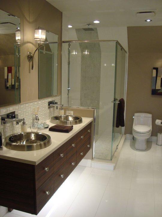Nous sommes fiers de cette r alisation nuance design - Design salle de bain ...